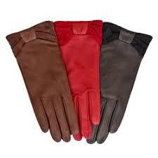 خرید انواع دستکش چرم مصنوعی رنگی زنانه