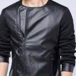 عرضه انواع کاپشن مردانه چرم مصنوعی رنگی