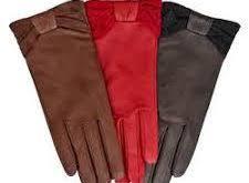 خرید عمده دستکش چرم مصنوعی باکیفیت زنانه